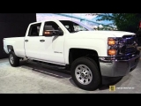 2018 Chevrolet Silverado 2500 HD - Exterior and Interior Walkaround - 2018 Detroit Auto Show