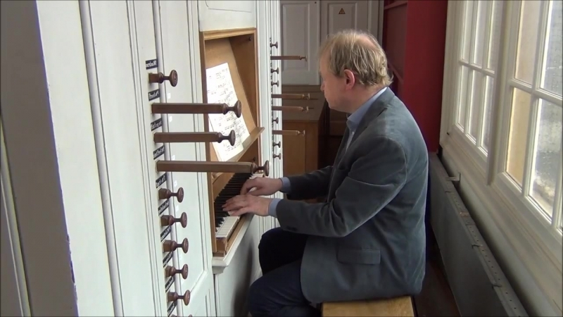 677 681 683 816 850 851 J. S. Bach - Organ Recital 6 april 2018 BWV 850 683 816 81 677 851 - Arjen Leistra