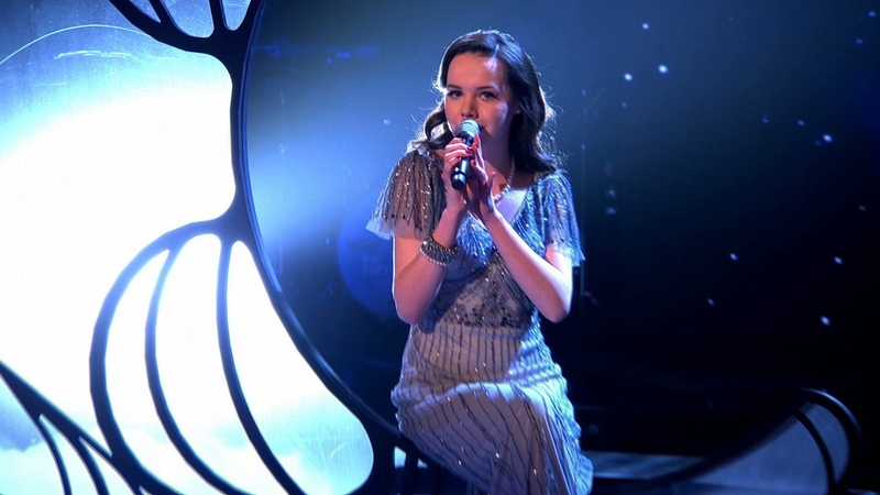 Sophie May Williams performs 'Moondance' The Voice UK 2014 The Live Quarter Finals BBC One
