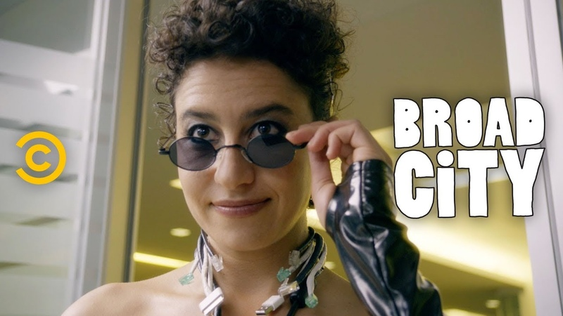 "Ilana's New Outfit One Part Bitcoin Kween, One Part ""The Matrix"" - Broad City"