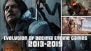 Evolution of Decima Engine Games 2013-2019