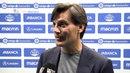 Montella: Hemos controlado el partido. 17/04/18. Sevilla FC