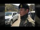 180417 Чжи Чан Ук и Кан Ха Ныль участвуют в военном мюзикле