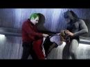 бэтмен и джокер трахнули харли