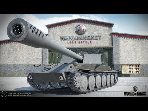 Стрим игры World of Tanks.