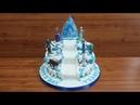 Mainan Frozen Cara Menghias Kue Ultah Frozen Elsa Cara Membuat Kue Ulang Tahun Frozen Tingkat