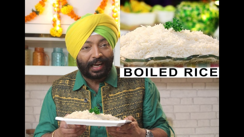 How to Boil the rice Tips Tricks ChefHarpalSingh