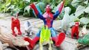 Trò chơi Đại chiến Siêu nhân Người nhện đối đầu với Khủng long, Cá Sấu bạo chúa, hung ác