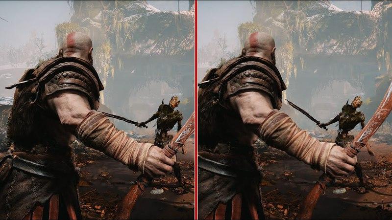 God of War Graphics Comparison: Performance vs. Resolution at 4K 60fps