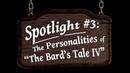 The Bard's Tale IV: Barrows Deep Spotlight 3 - Personalities