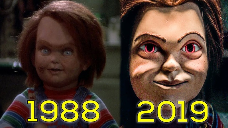 Evolution Of Chucky in Movies TV 1988 2019