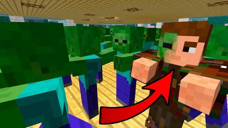 Я Зомби Зомби Зомби День 108 Зомби Апокалипсис в Майнкрафт