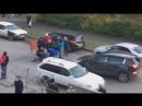 Ребёнка сбил автомобиль на улице Старащука