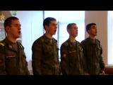 Духовные песнопения в исполнении вокального ансамбля 60-й ОКМСБ