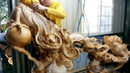 Amazing Wood Products Fastest Skill Wood Dragon Carving With Chainsaw Extreme Woodworking Skills