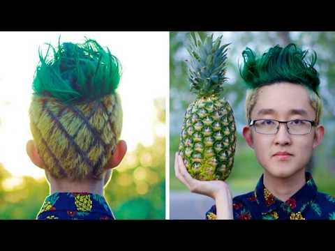 Những Kiểu Tóc Chất Nhất Hệ Mặt Trời   Funniest haircuts ever 