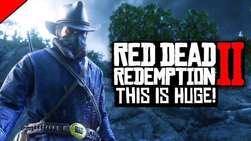 Red Dead Redemption 2 - MASSIVE INFO DROP! FIRST PERSON, TRAIN HEISTS CONFIRMED!