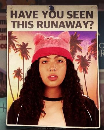 """Runaways on Instagram: """"Hear that, Pride? We're just getting started. 👀 MarvelsRunaways"""""""