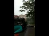 8.05.18 укладка асфальта в дождь