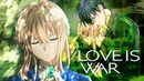 [ Simple AMV] Love Is War -「Anime MV」~ (sad AMV)
