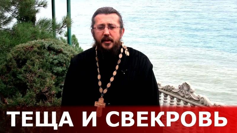 Теща и свекровь. Священник Игорь Сильченков