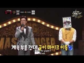 [Türkçe Altyazılı] King of Mask Singer 145. Bölüm - Dongwoo
