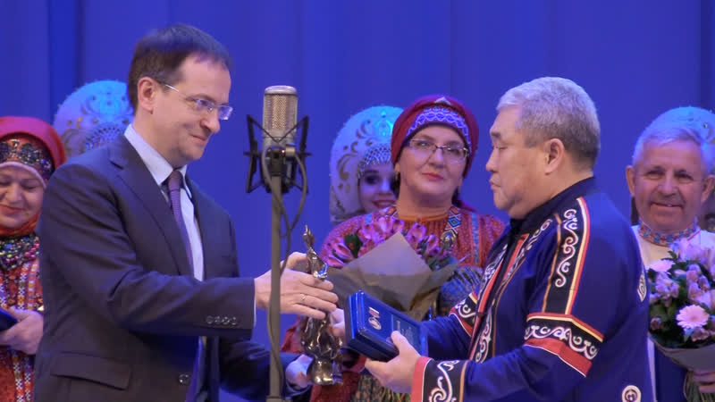 «Душа России» — министр культуры РФ наградил руководителей творческих коллективов. ФАН-ТВ