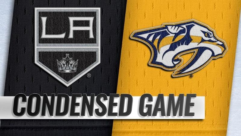 11/17/18 Condensed Game: Kings @ Predators