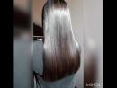 реконструкция сухих кончиков волос