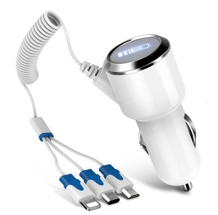 Зарядка для трех типов устройств