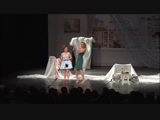 Комедийный спектакль «Ангелы на крыше» Катя Варнава, Мария Кравченко, Андрей Носков