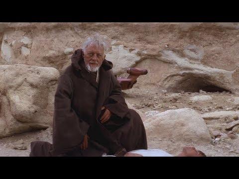StarWars Оби-Ван Кеноби спасает Люка от Пустынников