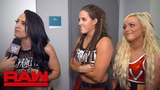 The Riott Squad teach a lesson in teamwork Raw Exclusive, June 18, 2018