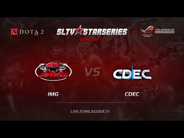 IMG vs CDEC, SLTV China Season 11, Day 1