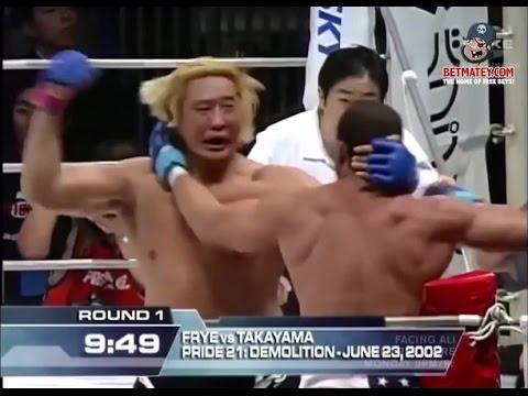 الــمــصــارعـــة الـــحــــرة الــحــقـــيـــقــــيـــــة Don Frye vs Yoshihiro Takayama