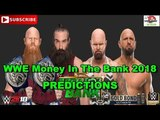 WWE Money In The Bank 2018 Tag Team Championship Bludgeon Brothers vs Luke Gallows &amp Karl Anderson