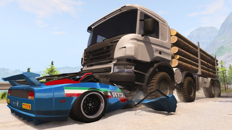 ANT vs Elefant Cars against Trucks Crashes BeamNG Drive CrashTherapy