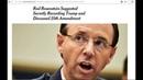 Justiz erlaubt Freigabe der fehlenden 20 FISA-SeitenTrump
