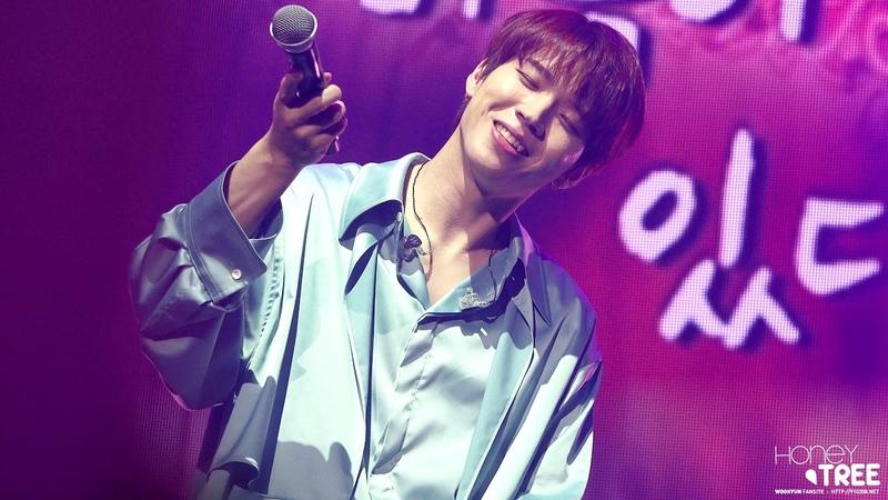 [03.11.18] Концерт Ухёна Arbor Day, день 2 | Nam Woohyun - Cactus (feat. Inspirit)