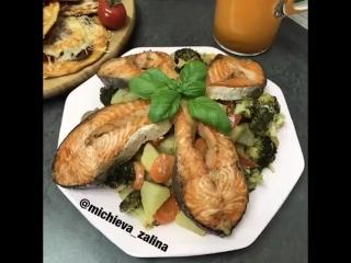 Рецепт приготовления вкусной рыбы/ vk.com/yum_cook