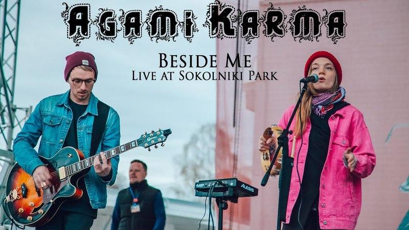 Agami Karma - Beside Me @ Live at Sokolniki