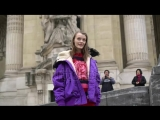 stock-footage-paris-france-march-supermodel-kris-grikaite-outside-paco-rabanne-fashion-show-in-paris