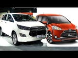 All new Toyota Sienta VS Toyota Innova Crysta 2017, 2018 model