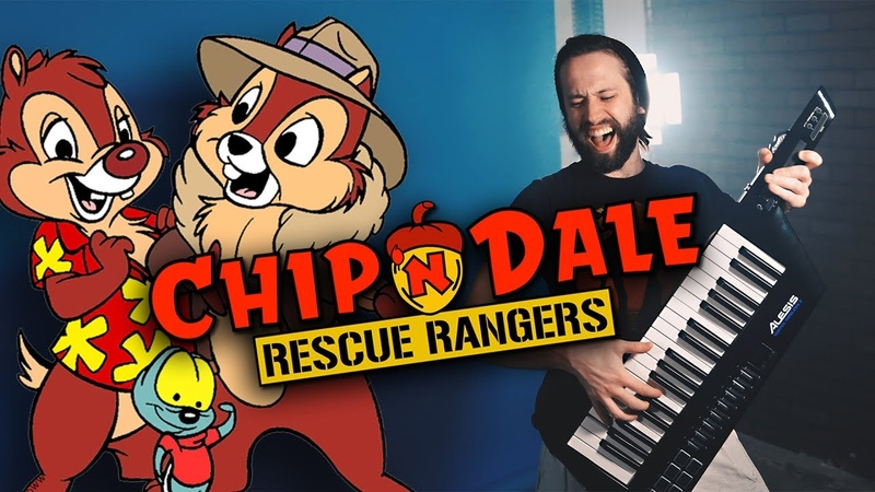 DISNEY - Chip N Dale Rescue Rangers Theme (KEYTAR COVER VERSION by Jonathan Young)