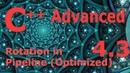 Advanced C Programming Tutorial 4 3 Rotation in Pipeline w Optimization