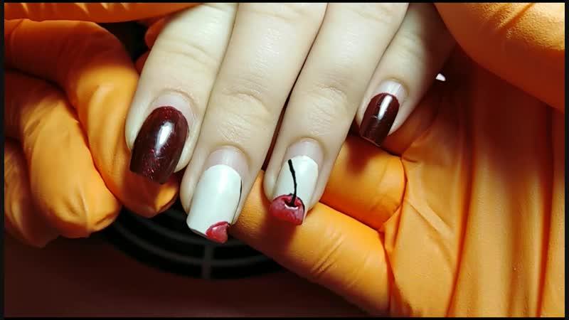 1 месяц, Коррекция укрепленных ногтей. Маникюр Оренбург