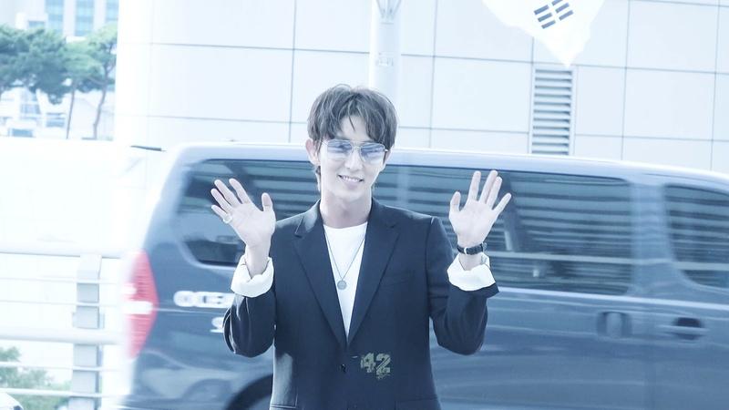 4K) 180928 이준기 @JGshock イジュンギ leejoongi 李准基 인천공항 태국 출국