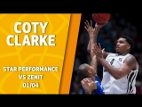 Star Performance Coty Clarke with 23 points  6 rebounds in Saint-Petersburg