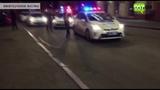 Момент нападения на Харьковский горсовет и убийства патрульного