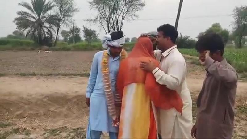 Отдали замуж